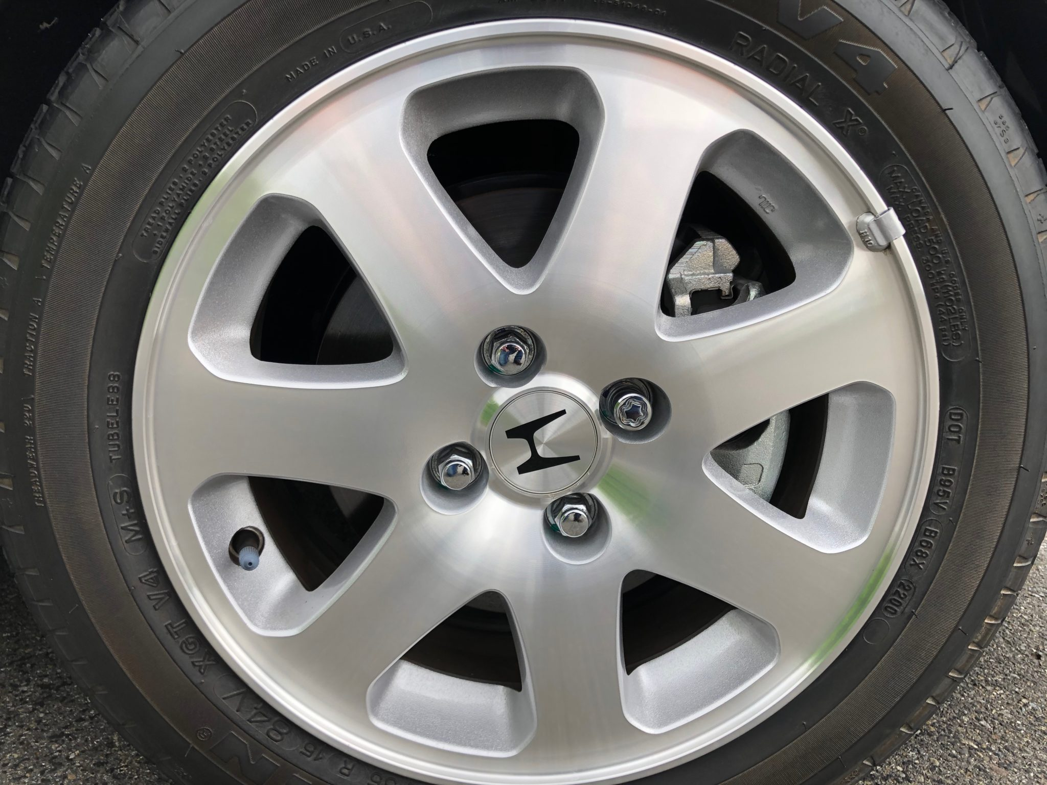2000 Honda Civic Si Wheel
