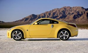 2005 Nissan 350Z 35th Anniversary Edition Side Profile