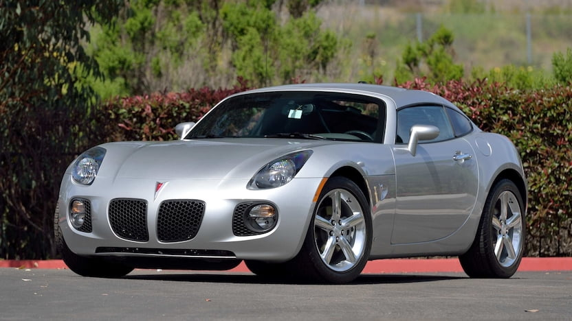 2009 Pontiac Solstice GXP coupe - Drivers side full image