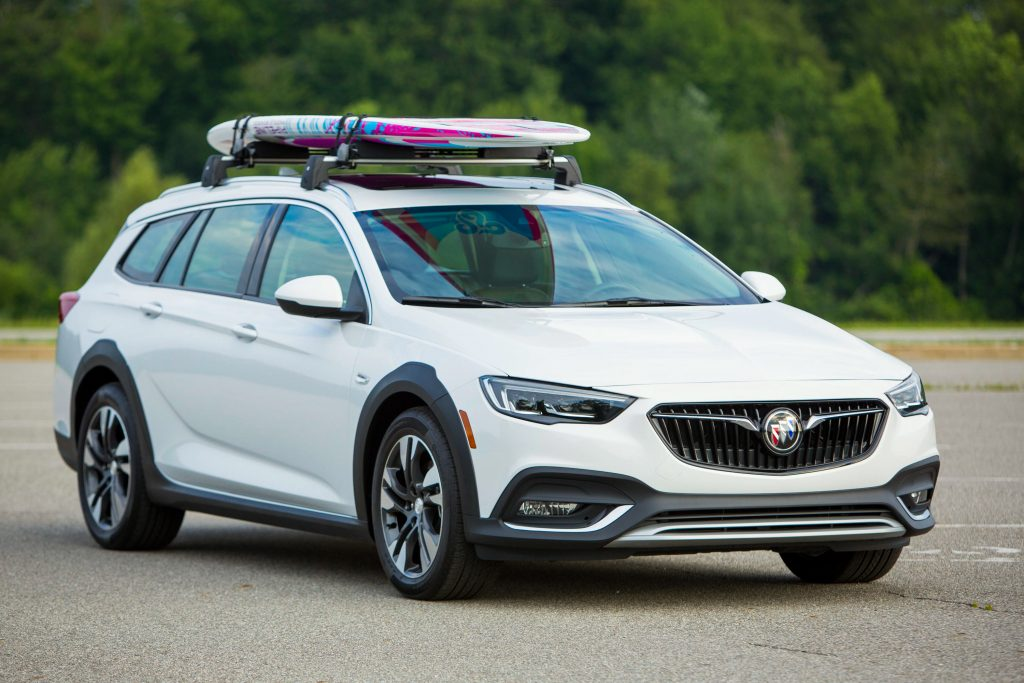 2019 Buick Regal Tour X (Photo by Jeffrey Sauger for Buick)