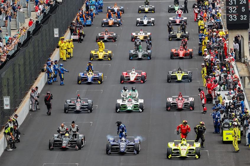 2019 Indy 500 grid