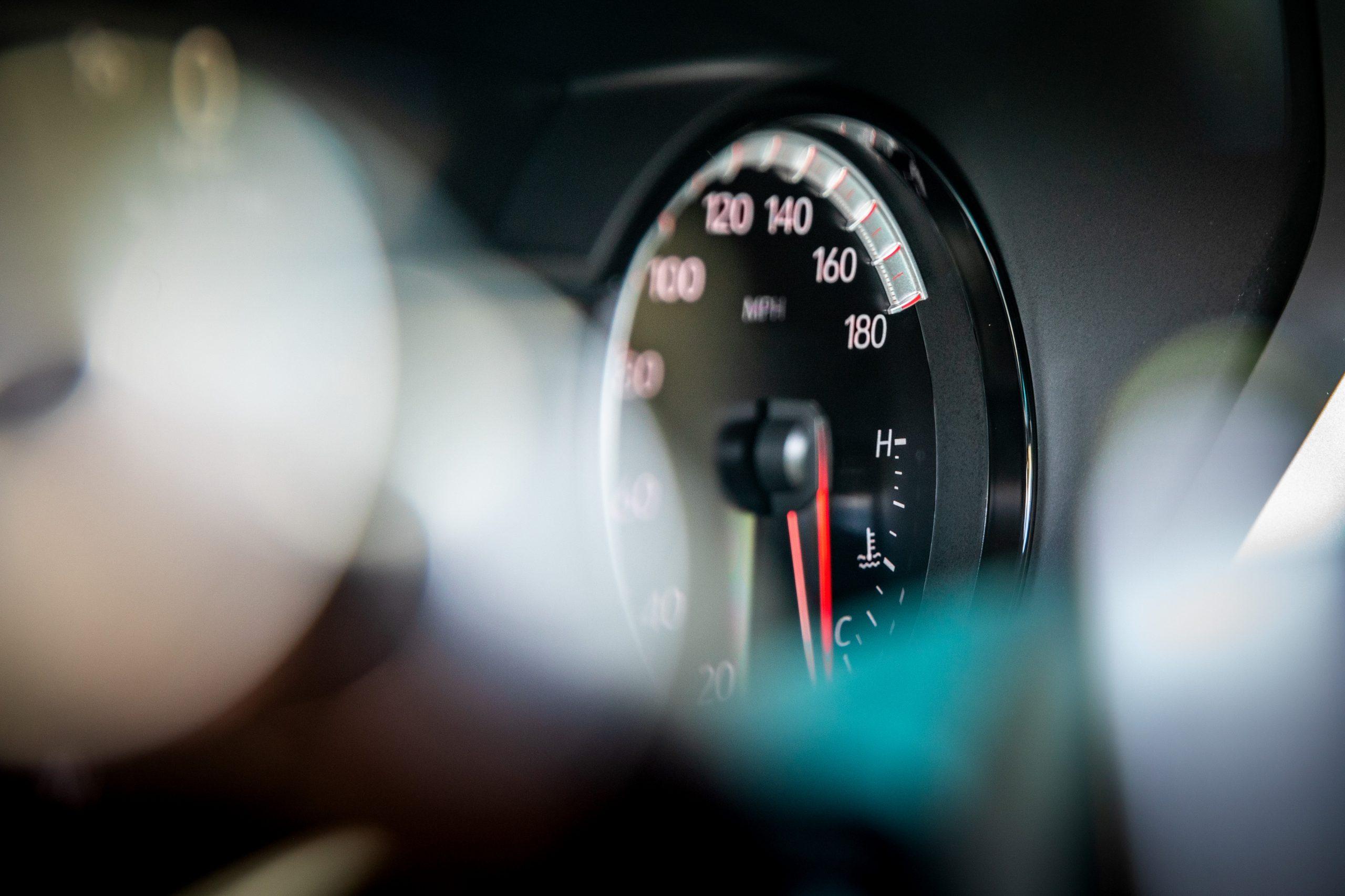 2020 Cadillac CT4-V 24 speedometer