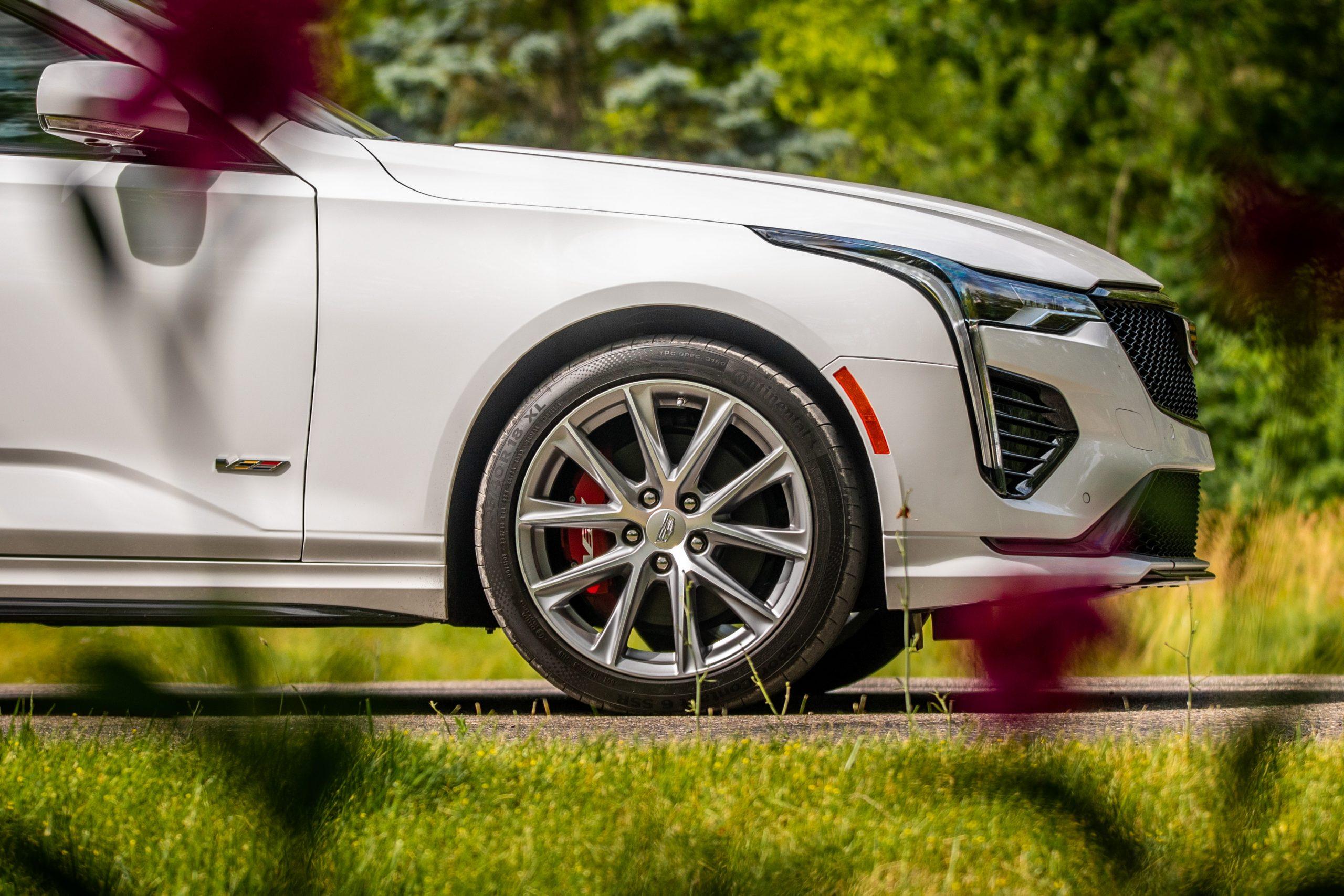 2020 Cadillac CT4-V front