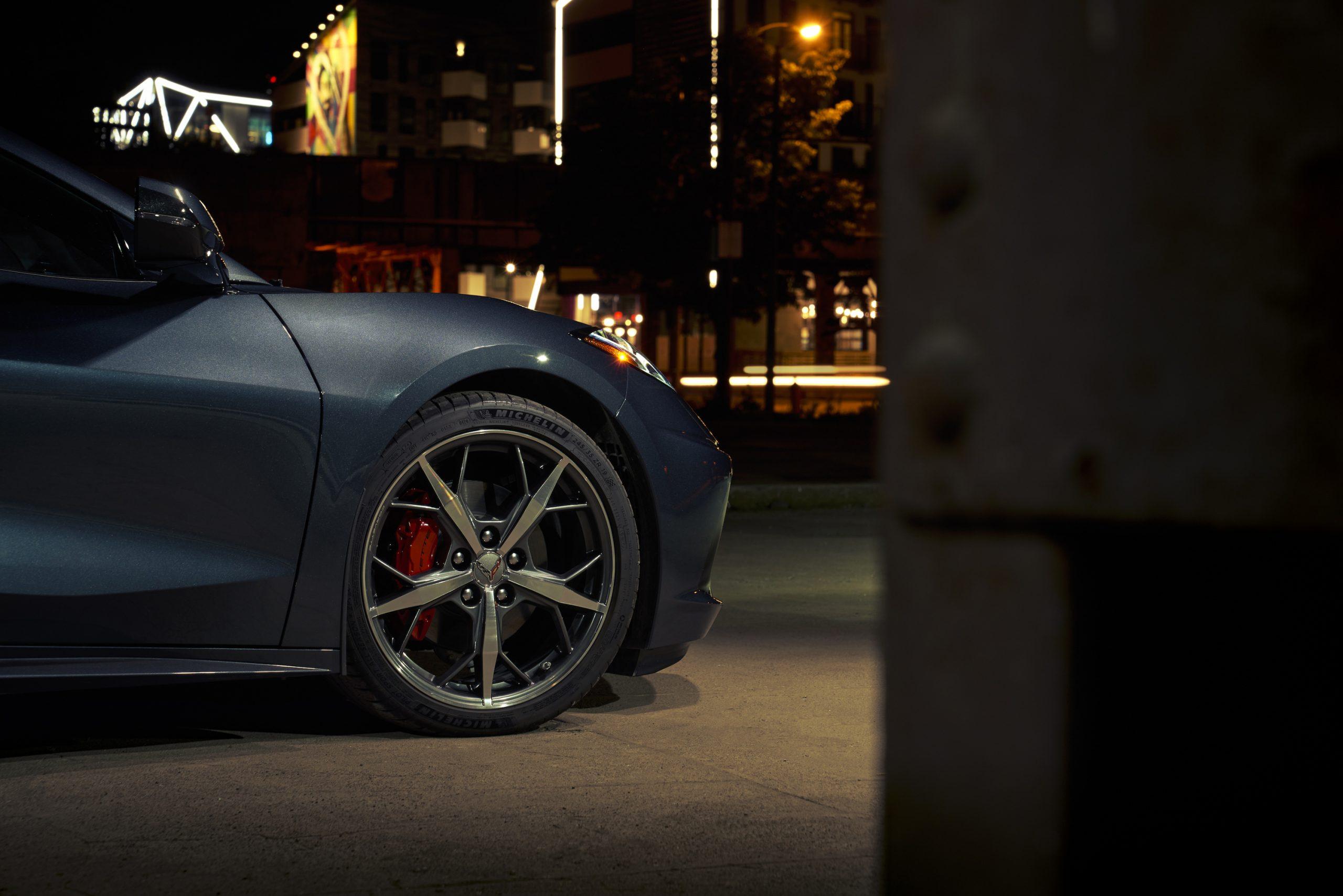 2020 Chevrolet Corvette Stingray 2LT C8 Front Wheel