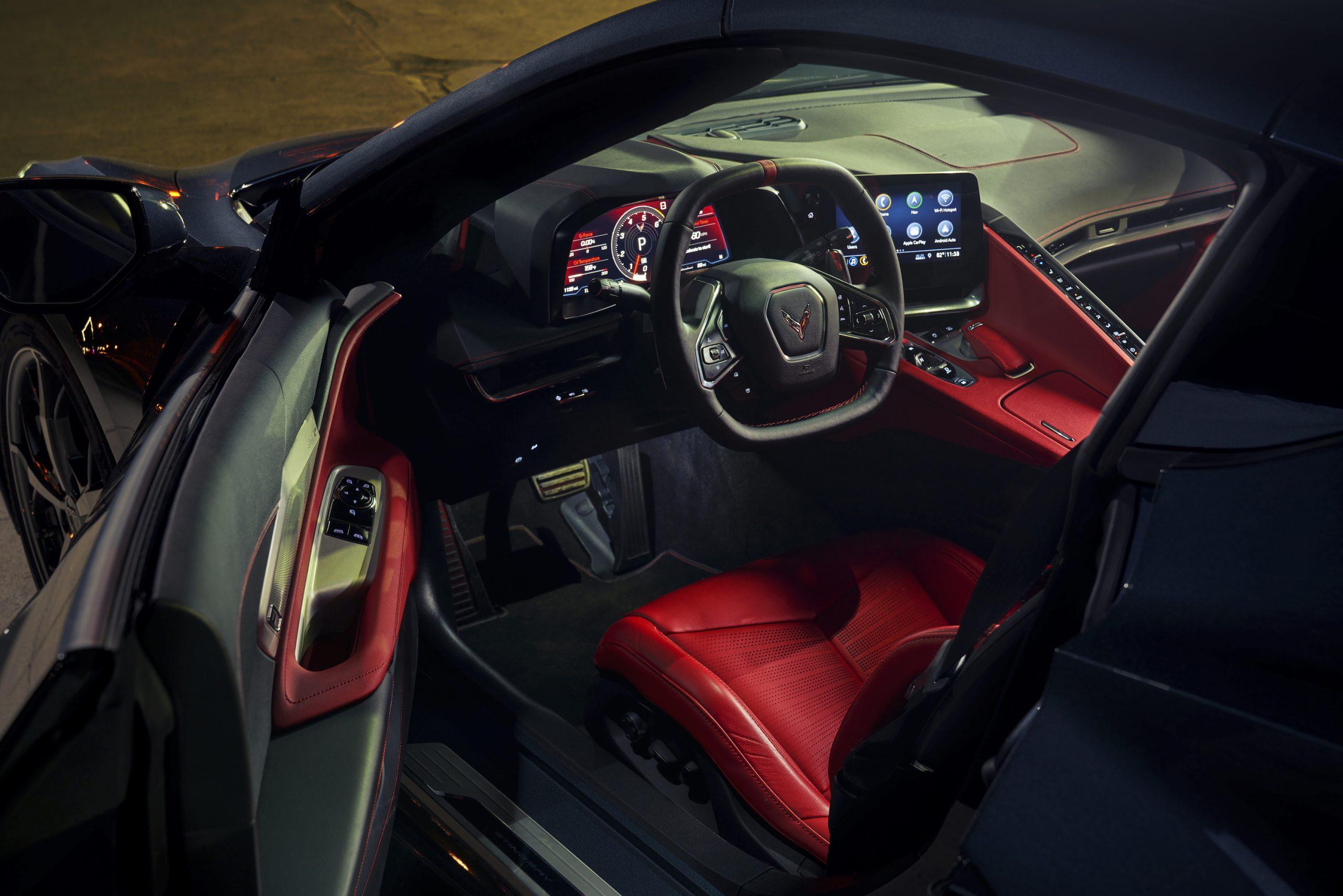 2020 Chevrolet Corvette Stingray 2LT C8 Interior Angle Cockpit