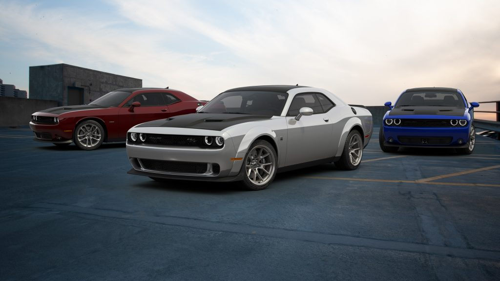 2020 Dodge Challenger 50th CE Colors