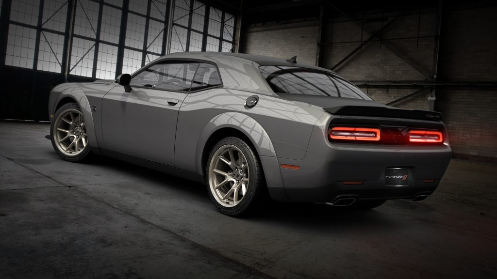 2020 Dodge Challenger 50th CE rear three quarter