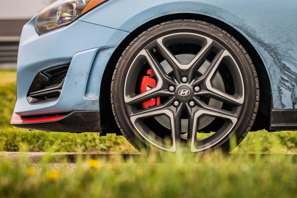 2020 Hyundai Veloster N wheel