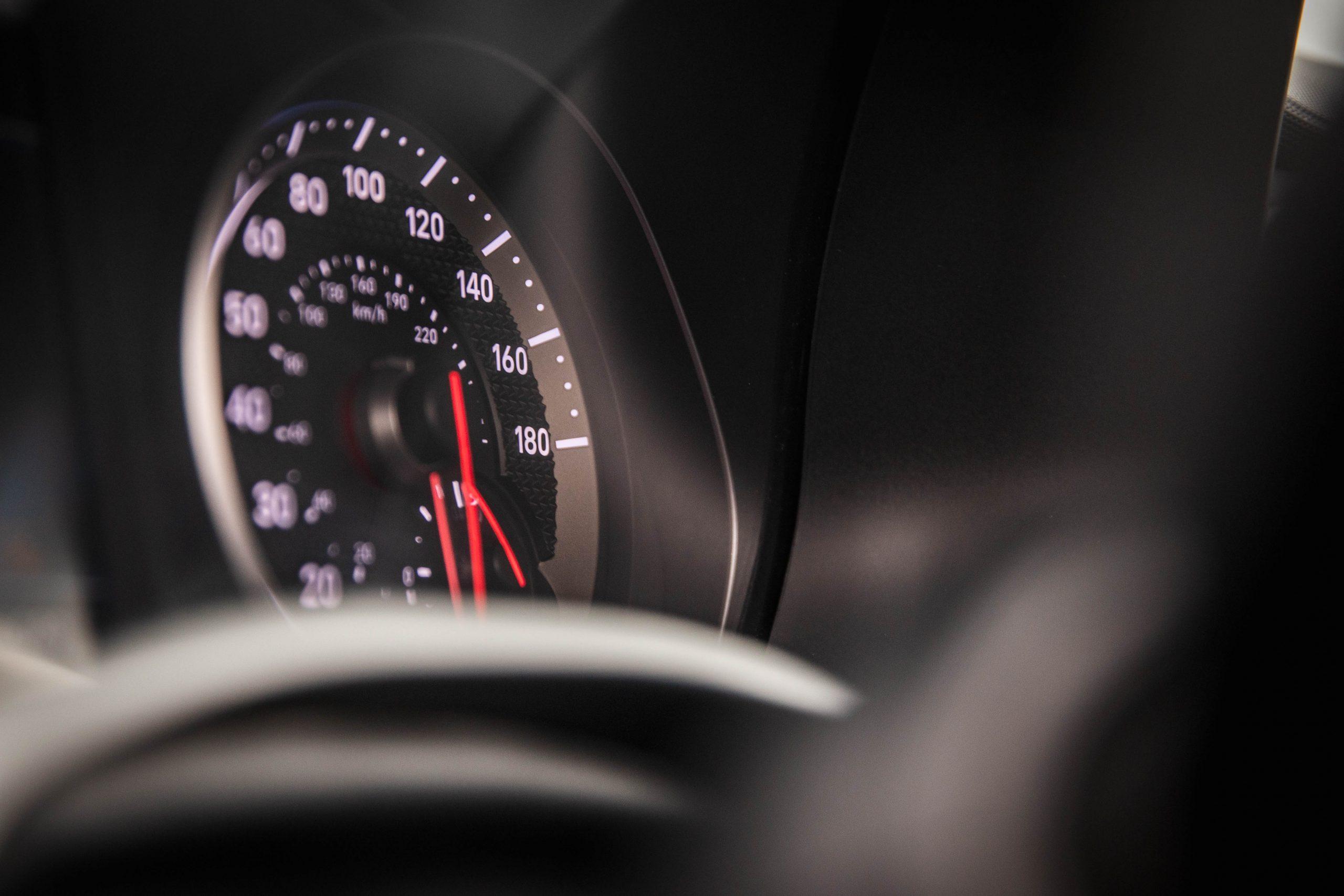 2020 Hyundai Veloster N speedometer