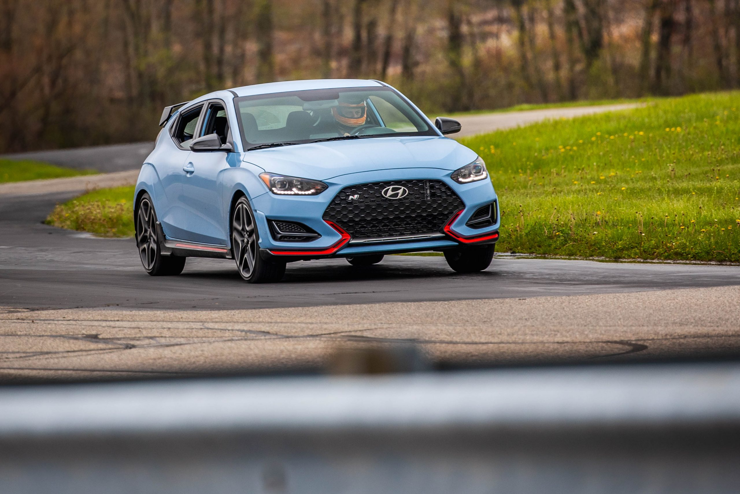 2020 Hyundai Veloster N in motion