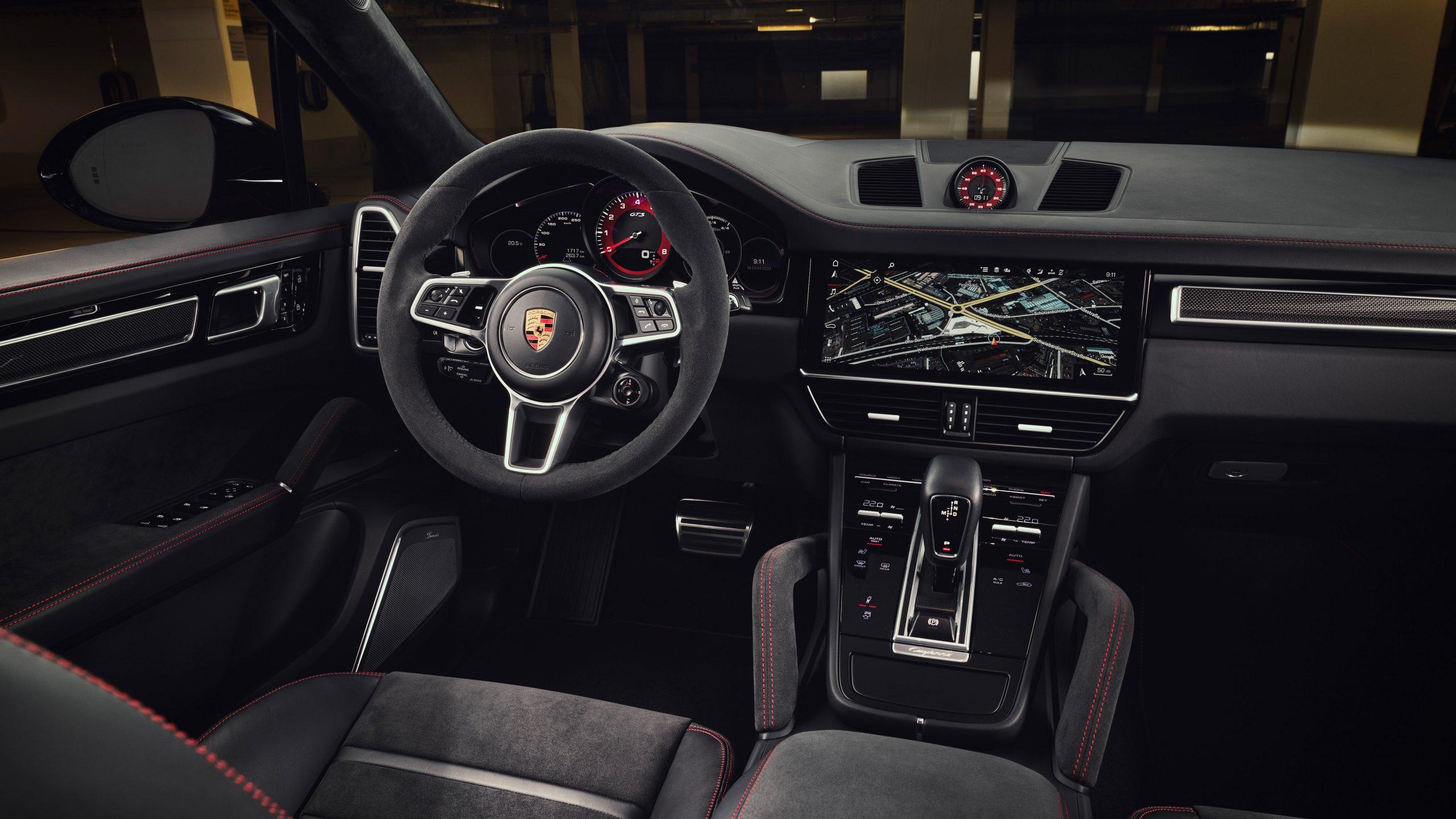 2020 Porsche Cayenne GTS Interior Front