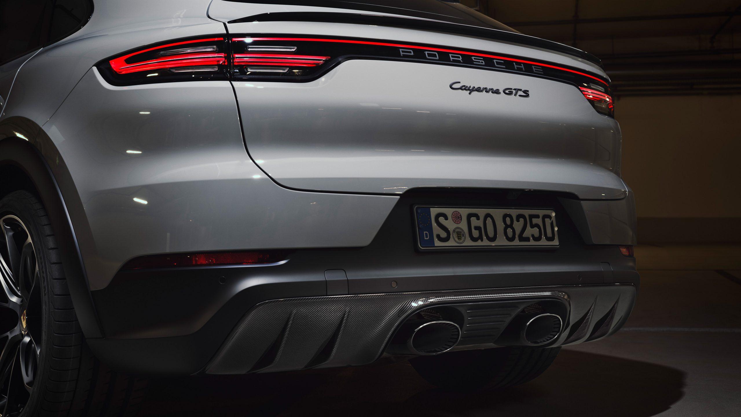 2020 Porsche Cayenne GTS Coupe Rear Fascia