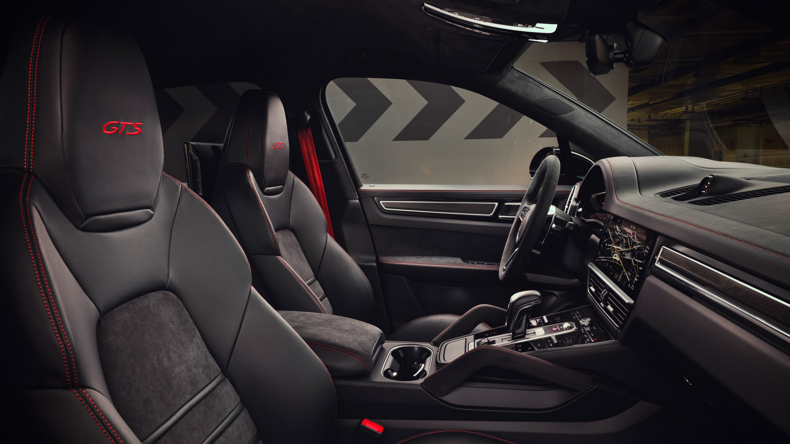 2020 Porsche Cayenne GTS Front Interior Side View