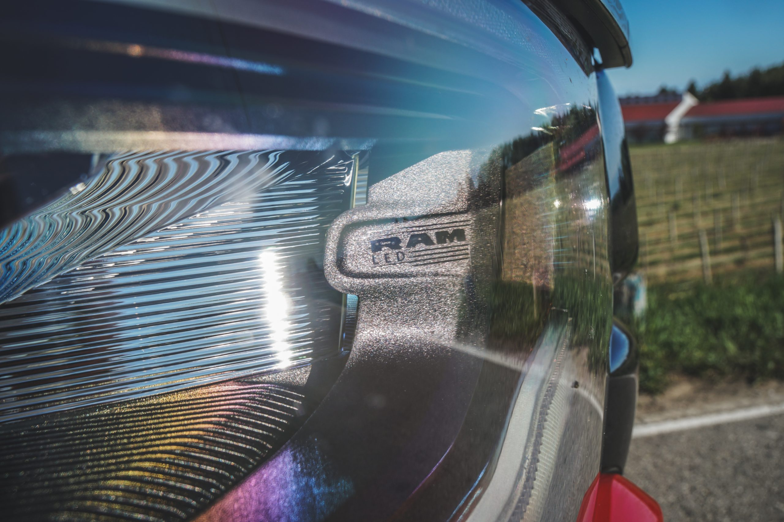 2020 Ram 1500 Laramie front LED headlights