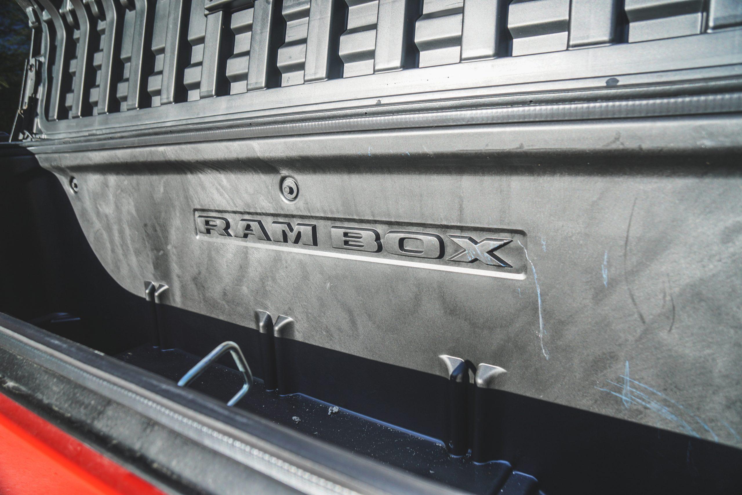 2020 Ram 1500 Laramie ram box open