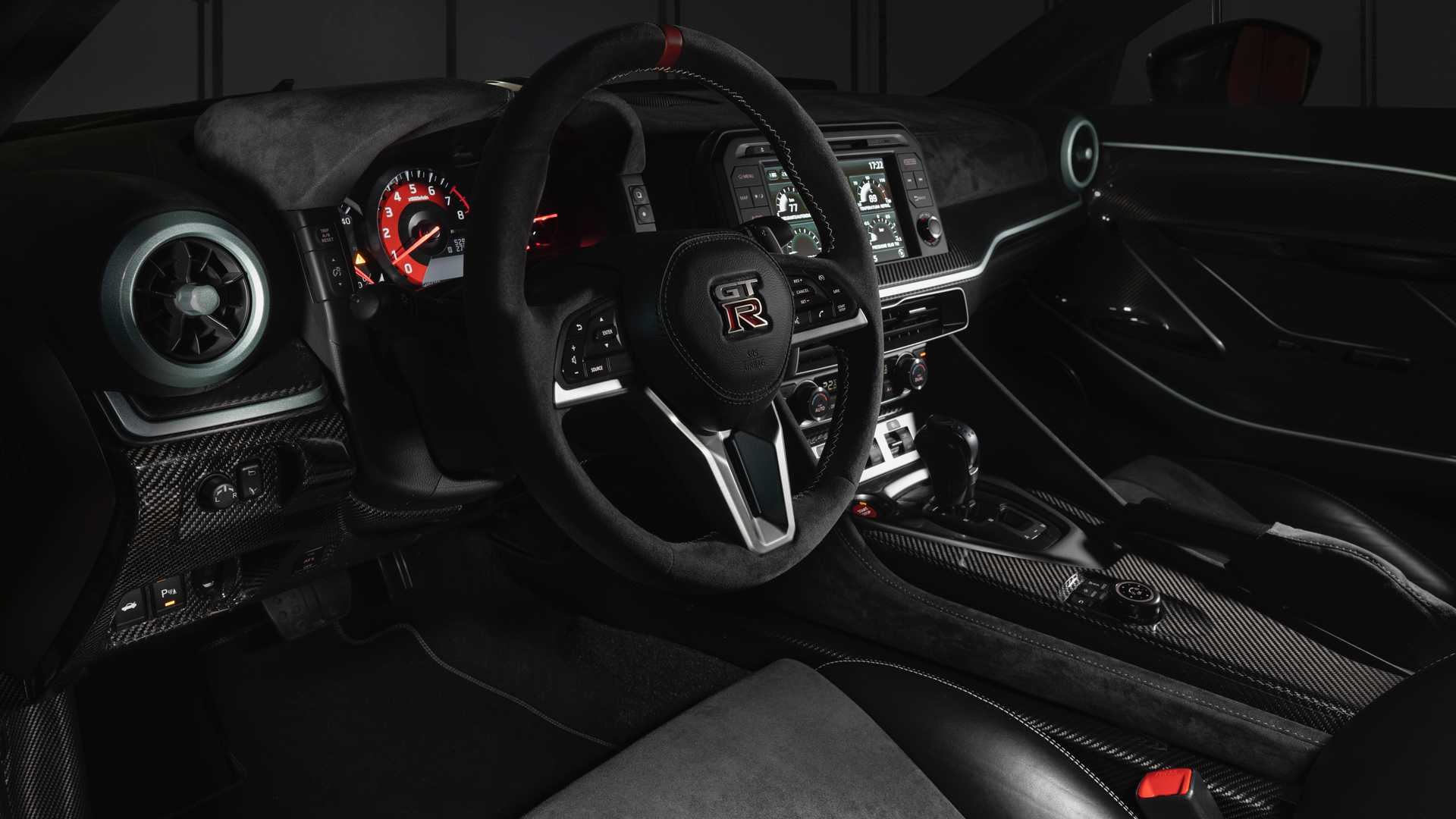 Nissan GT-R 50 interior