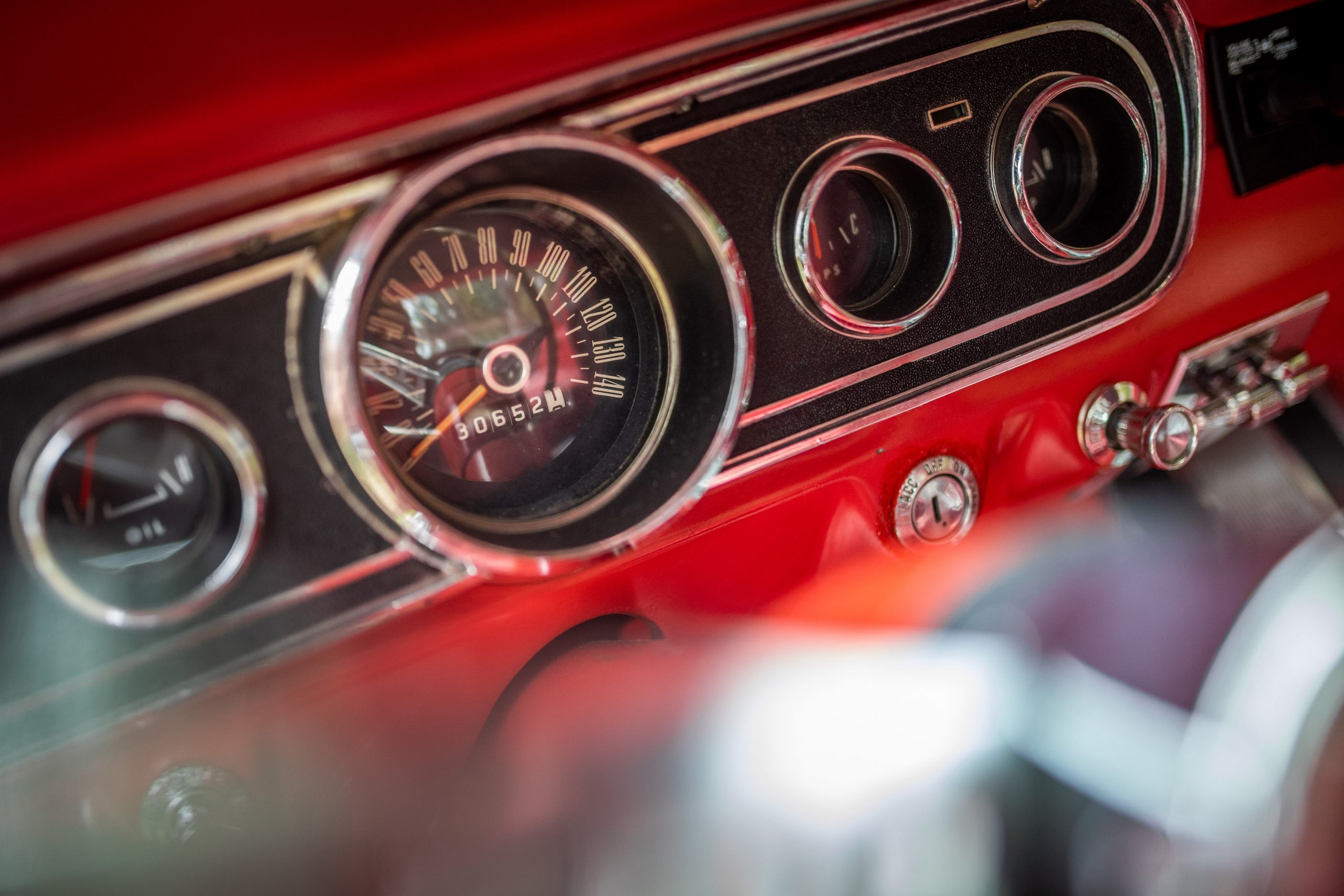 1965 Ford Mustang Speedometer Gauge
