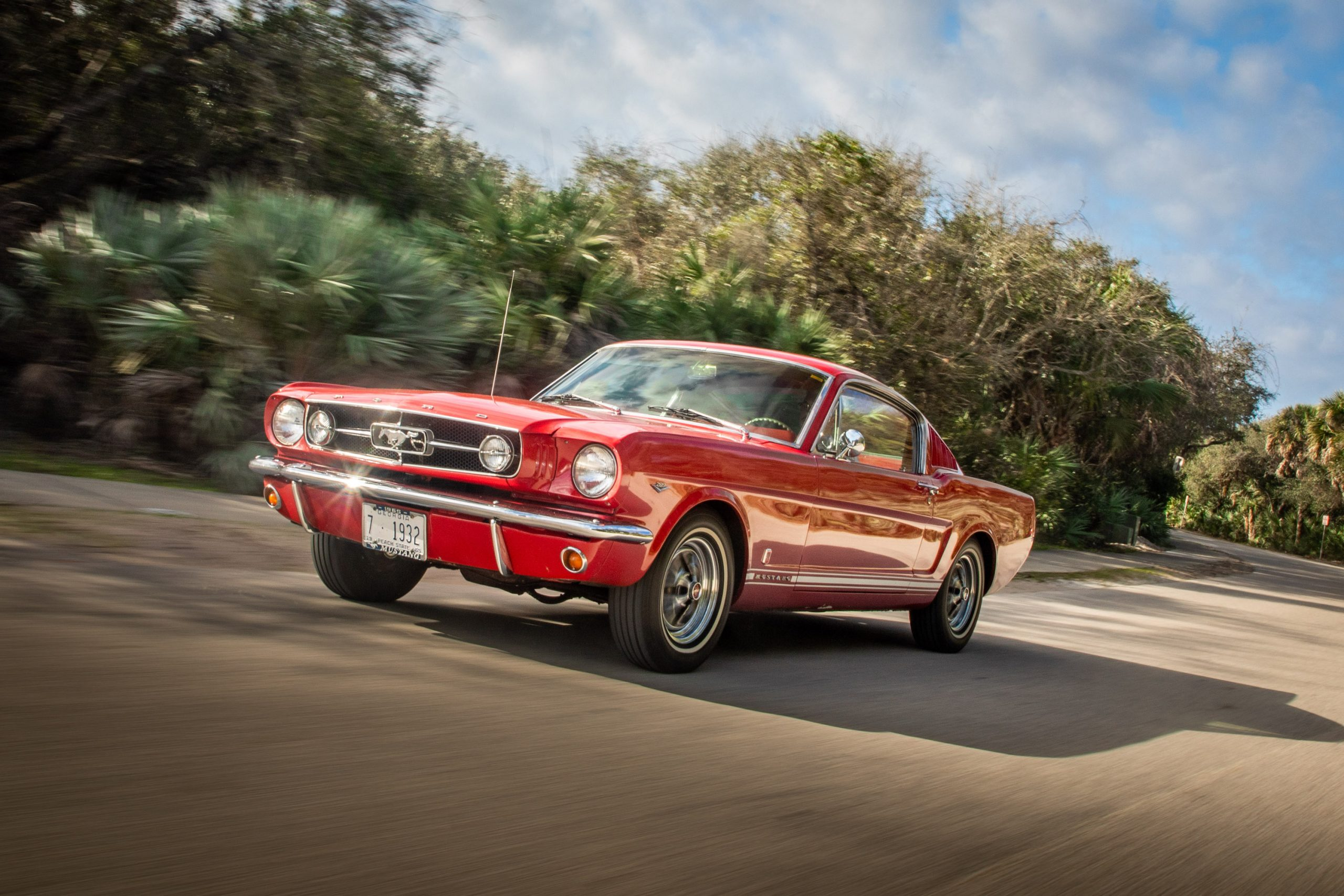 1965 Ford Mustang Front Three-Quarter Action