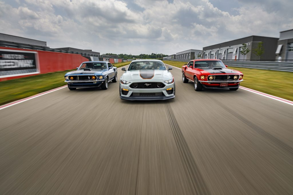 2021 Ford Mustang Mach 1 Generation Cars front action