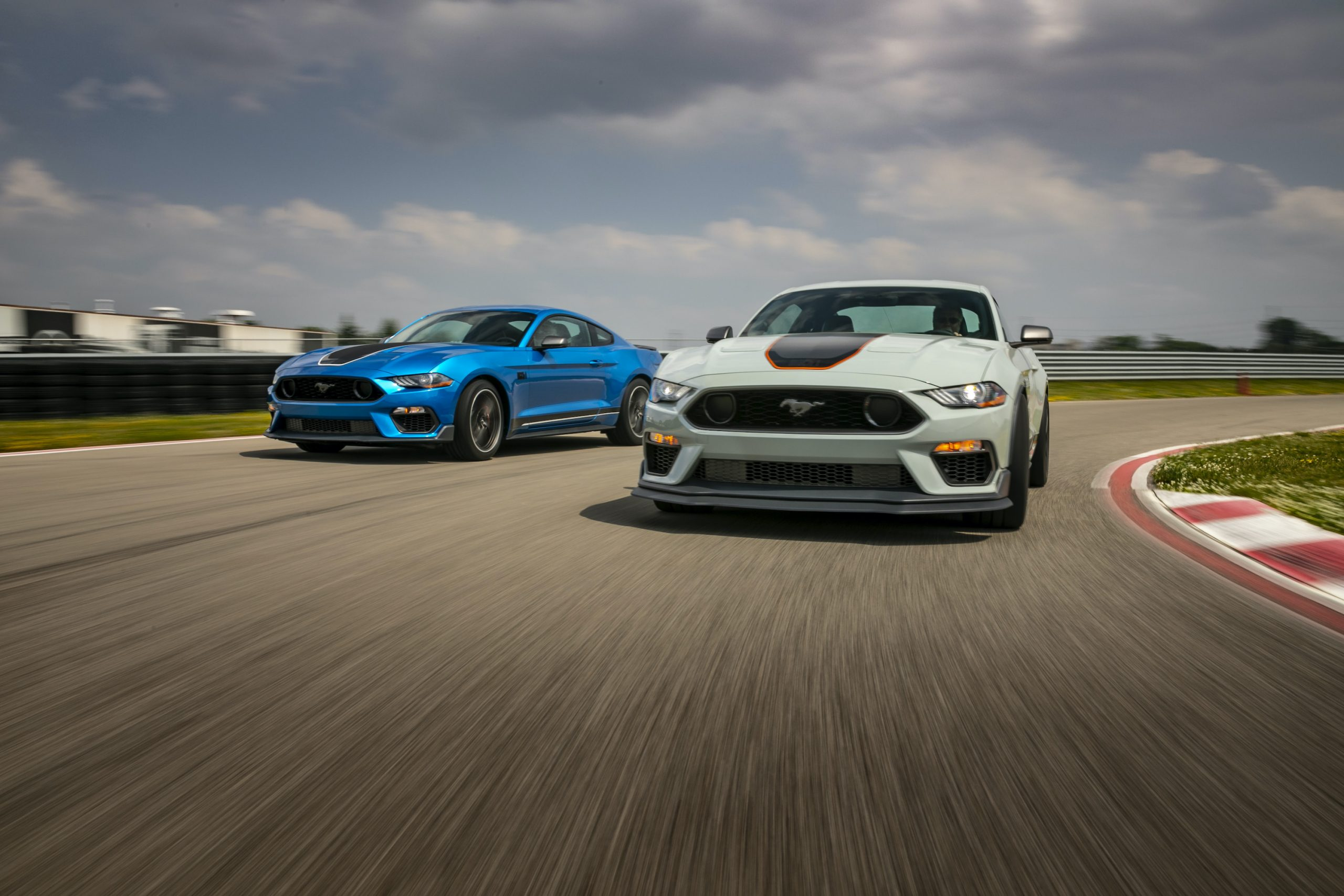 2021 Ford Mustang Mach 1 Cars action