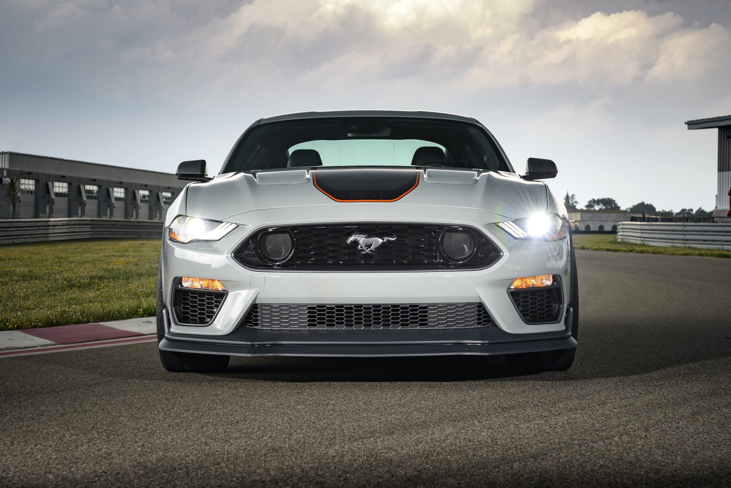 2021 Ford Mustang Mach 1 front