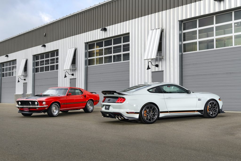 2021 Ford Mustang Mach 1 Generation Cars