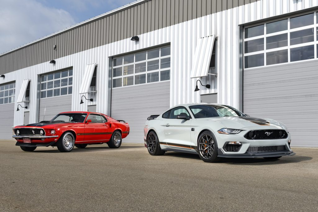 2021 Ford Mustang Mach 1 Generation Cars front three-quarter