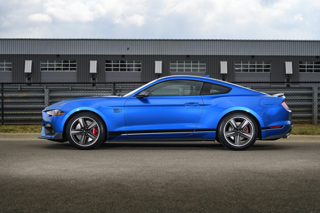 2021 Ford Mustang Mach 1 side profile