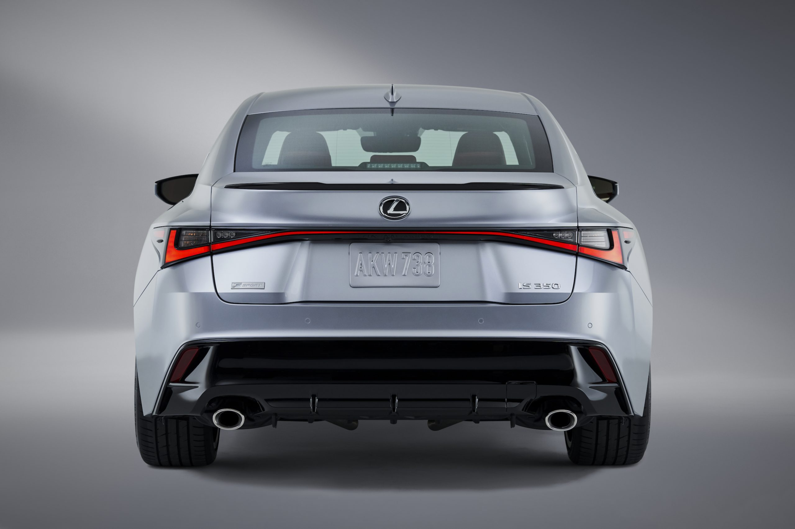 2021 Lexus IS 350 F Sport rear