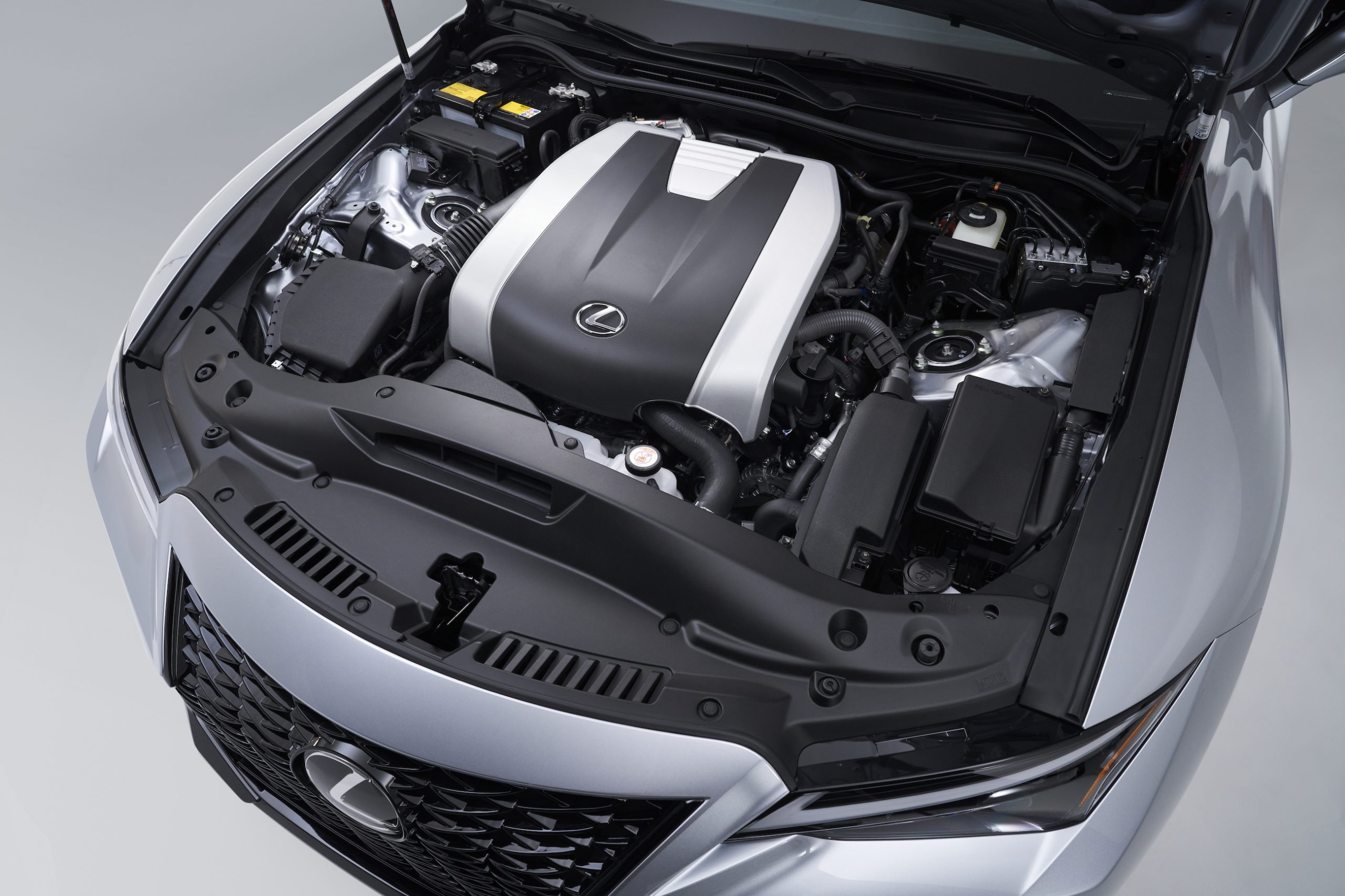 2021 Lexus IS 350 F Sport engine