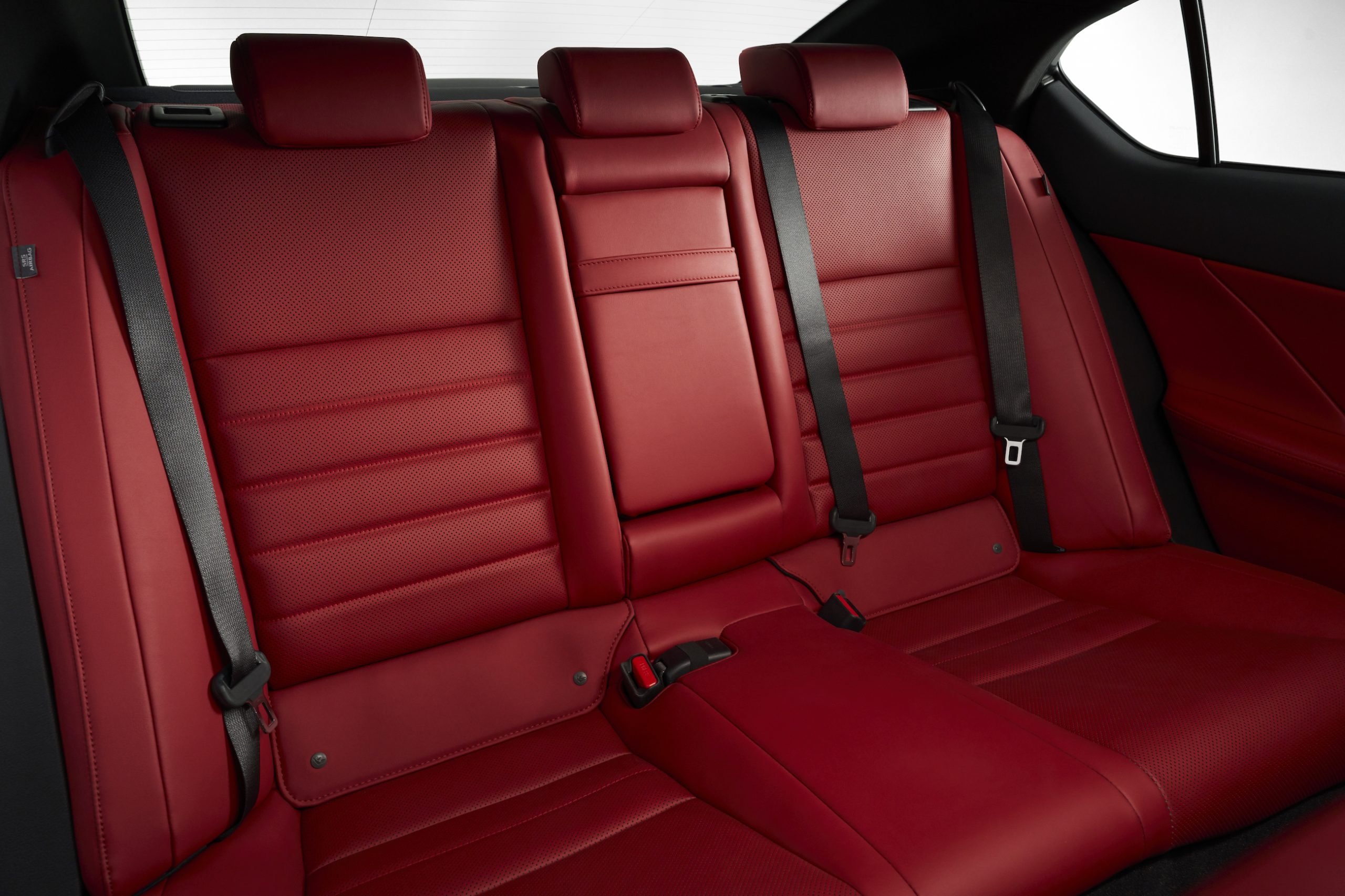 2021 Lexus IS 350 F Sport rear seats