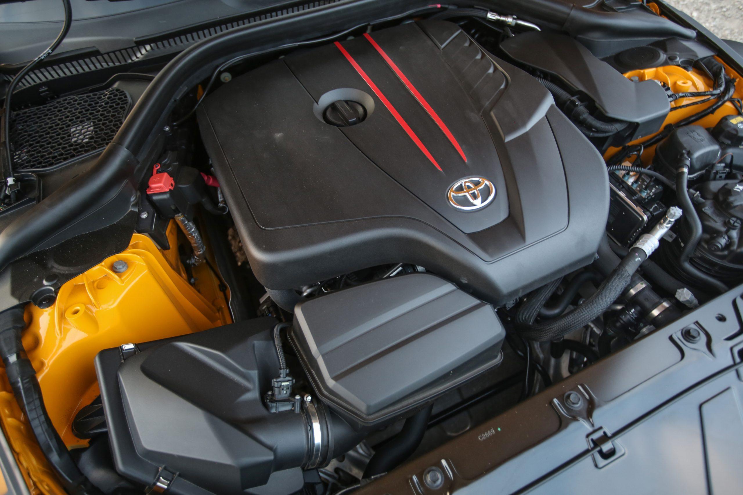 2021 Toyota Supra four cylinder