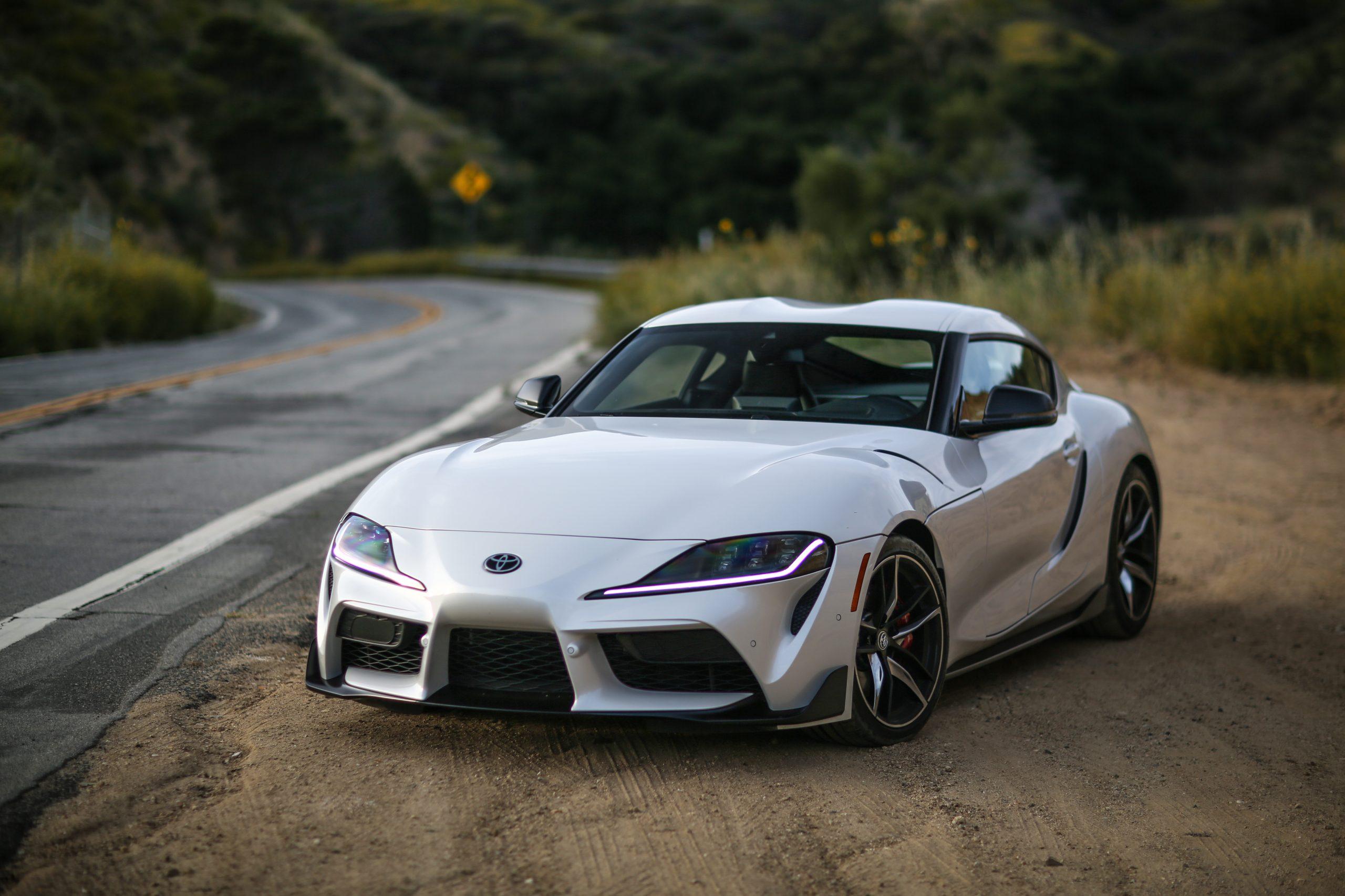 2021 Toyota Supra roadside