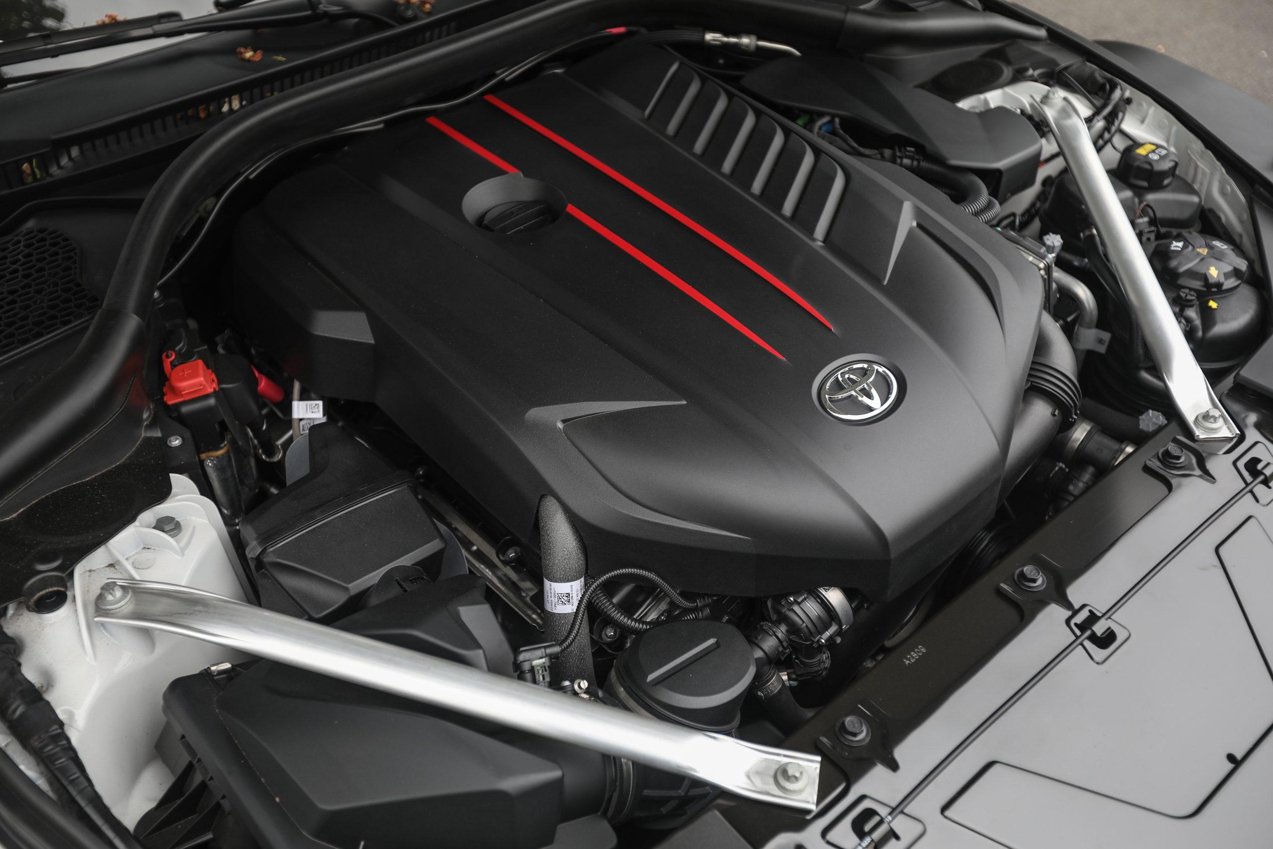2021 Toyota Supra six cylinder engine