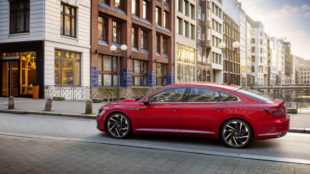 2021 VW Arteon Facelift side profile
