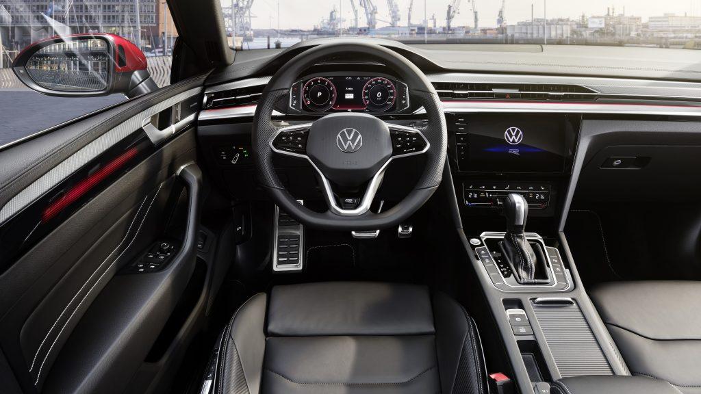 2021 VW Arteon Facelift interior