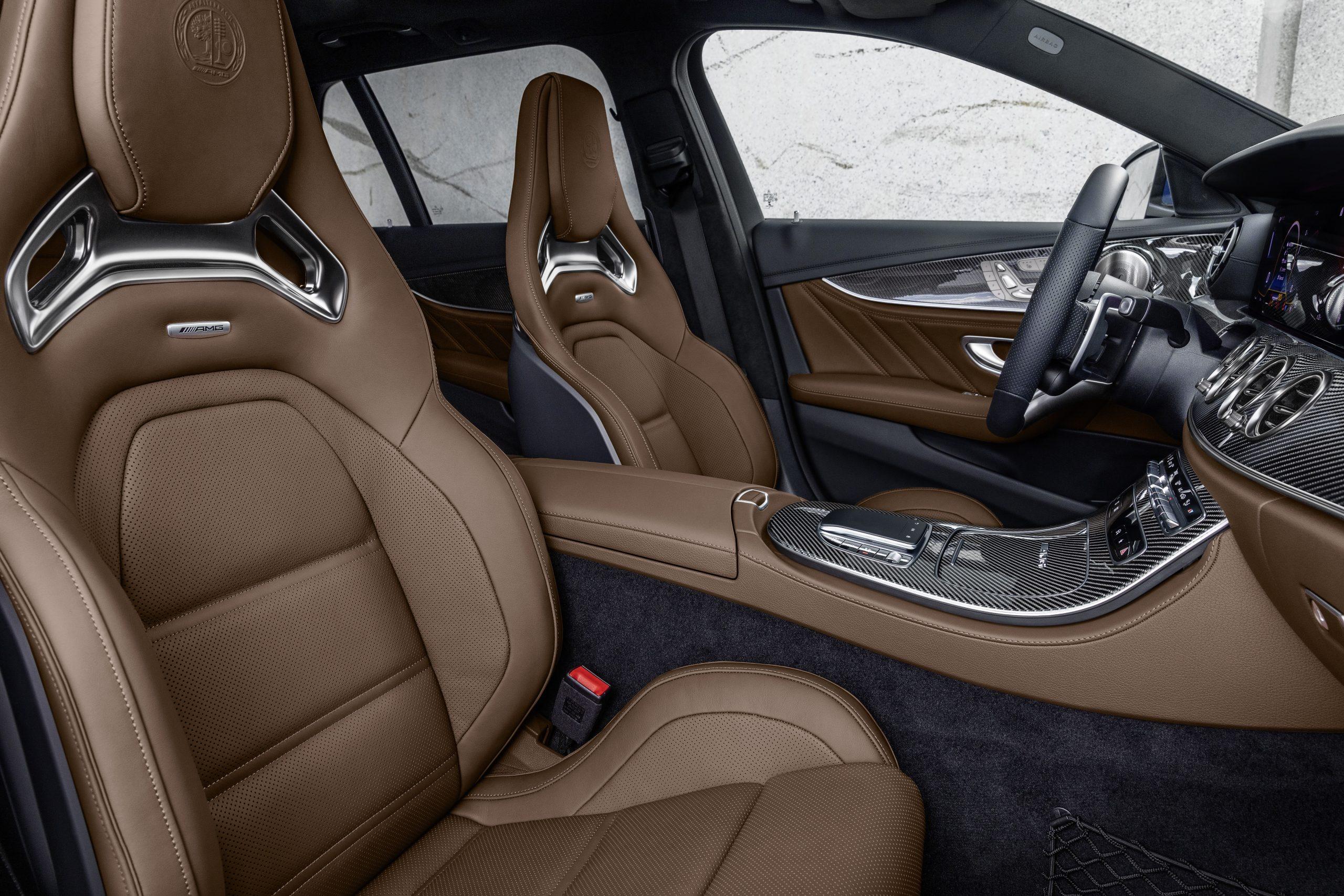 2021 Mercedes-AMG E63 S wagon interior