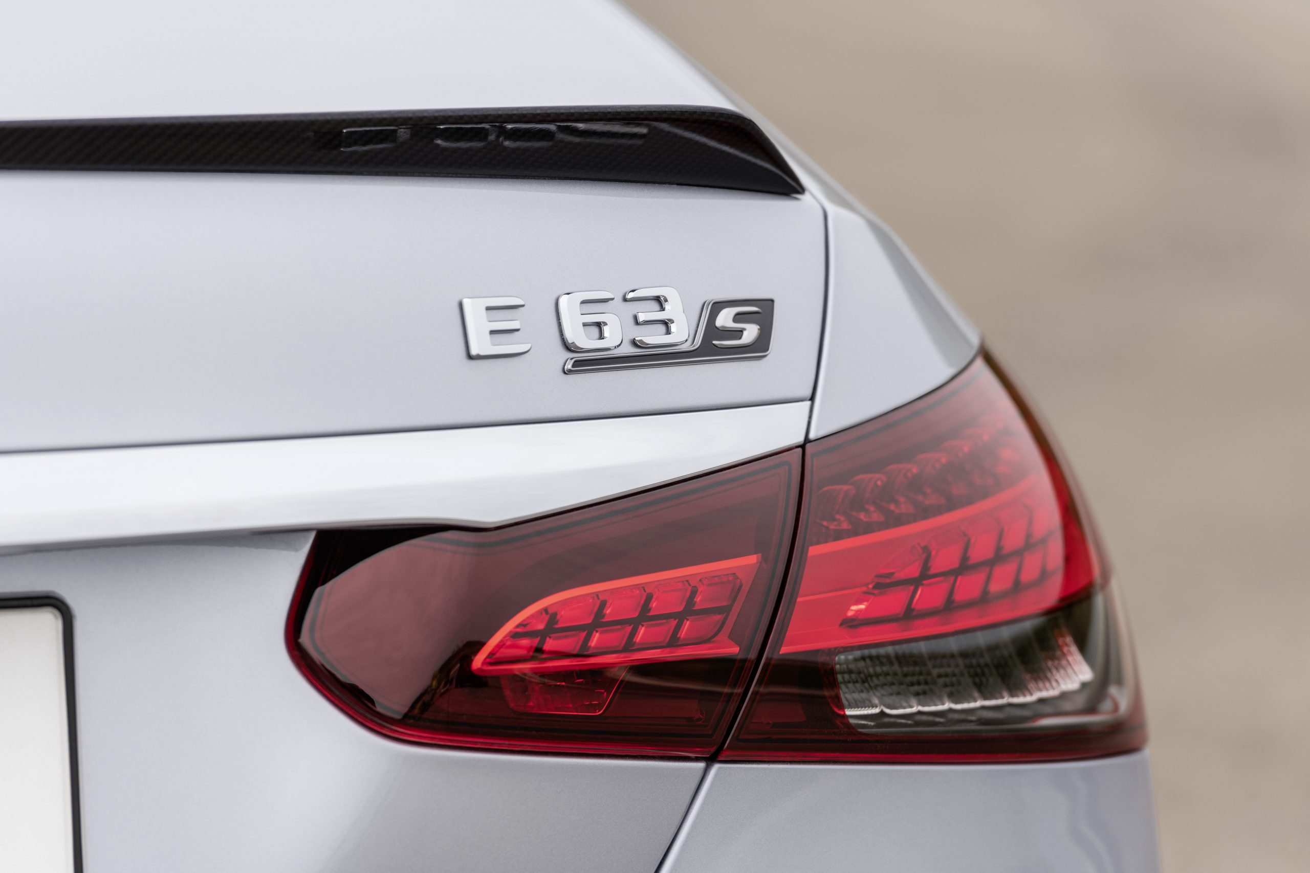 2021 Mercedes-AMG E63 S sedan badge