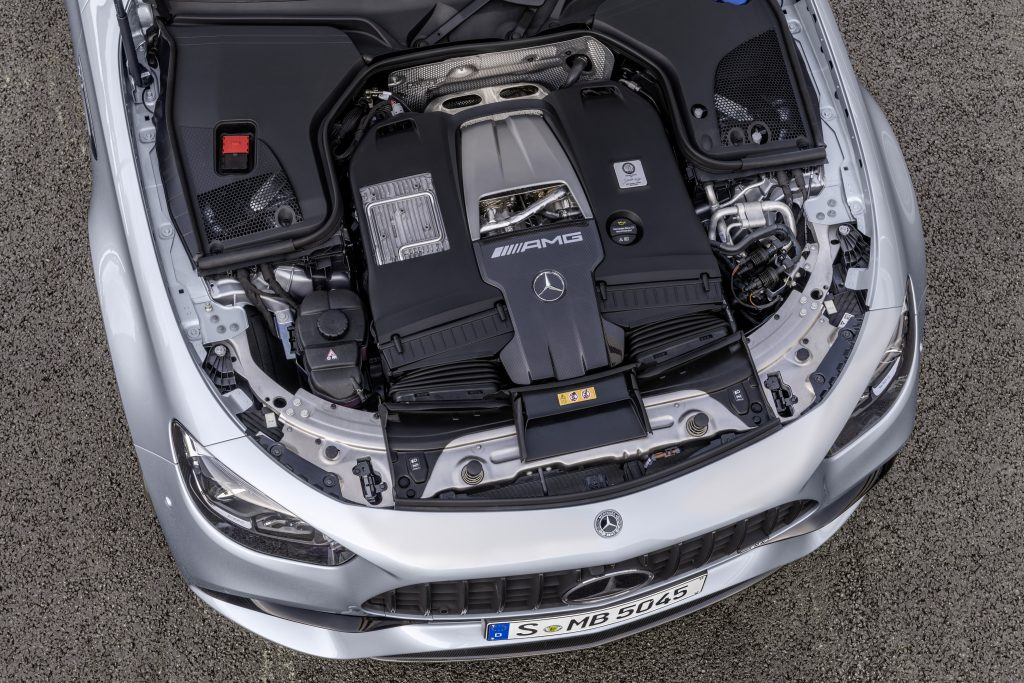 2021 Mercedes-AMG E63 S sedan engine