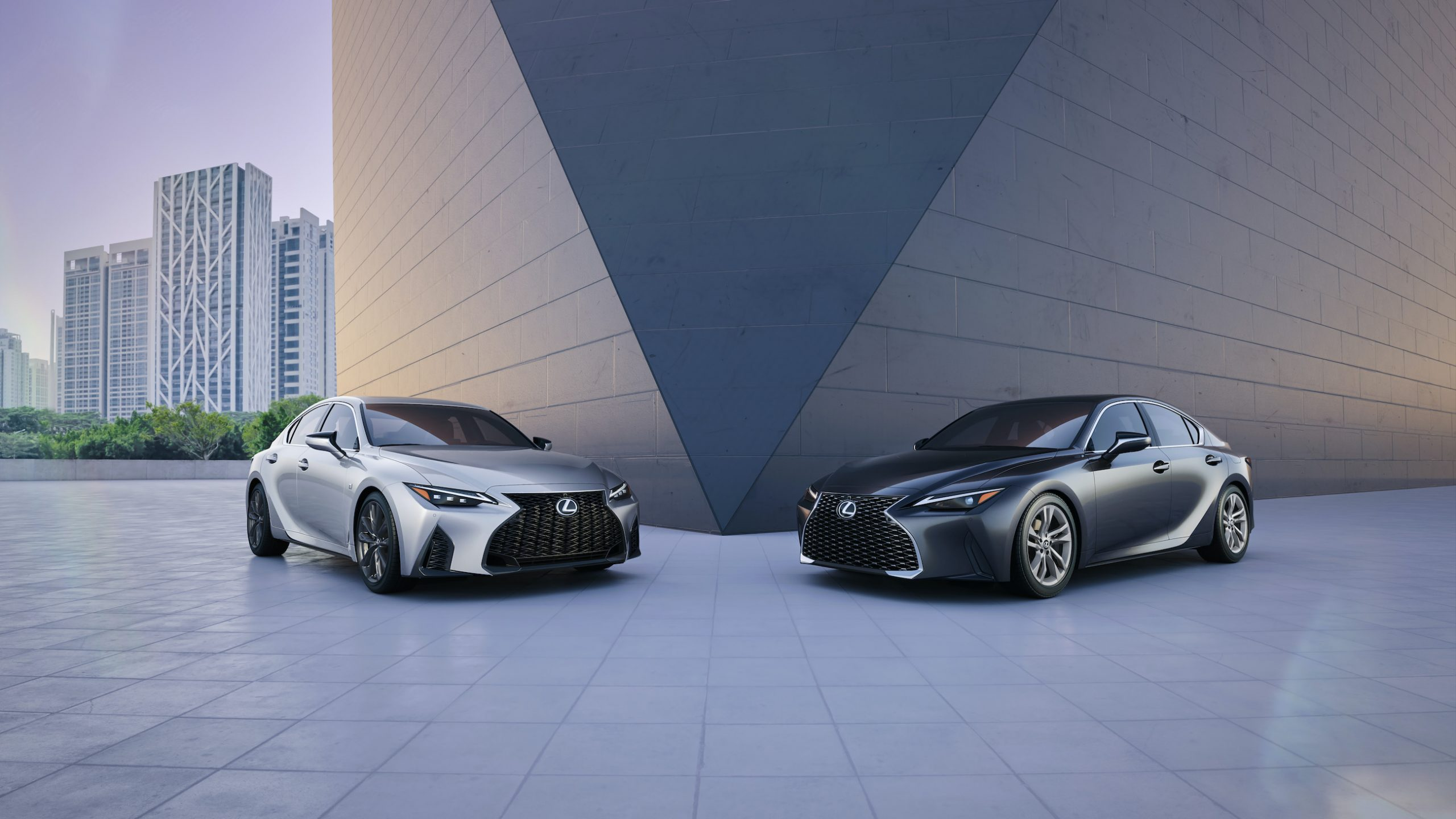 2021 Lexus IS 350 F Sport and IS 300