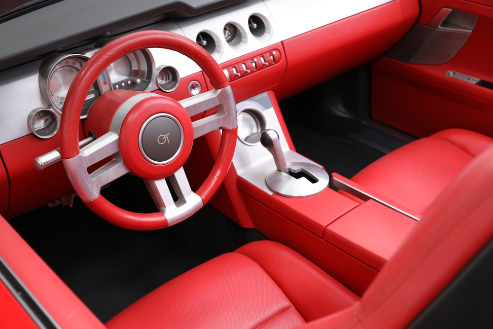 2004 Ford Mustang GT Convertible Concept Interior