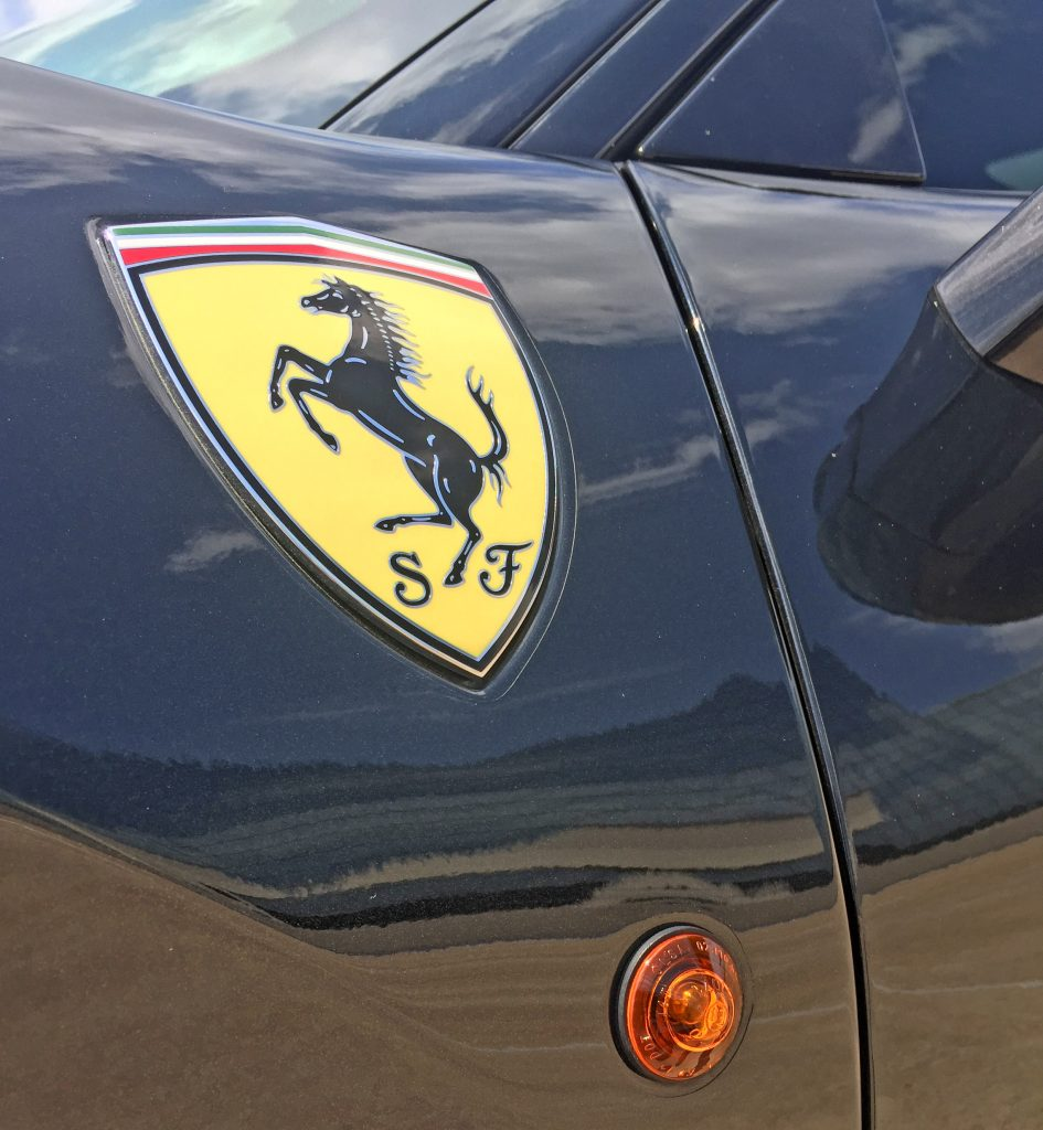 2020 Ferrari Pista shield