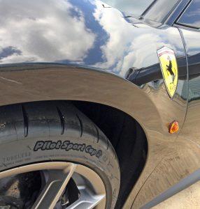 2020 Ferrari Pista fender