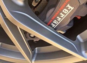 2020 Ferrari Pista wheel