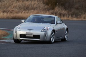2002 Nissan 350Z Front Three-Quarter Action