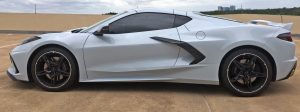 2020 Corvette side