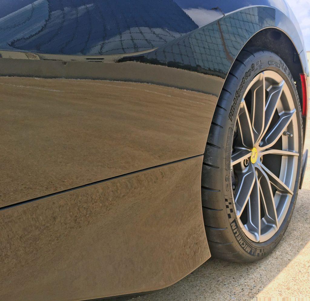 2020 Ferrari Pista side