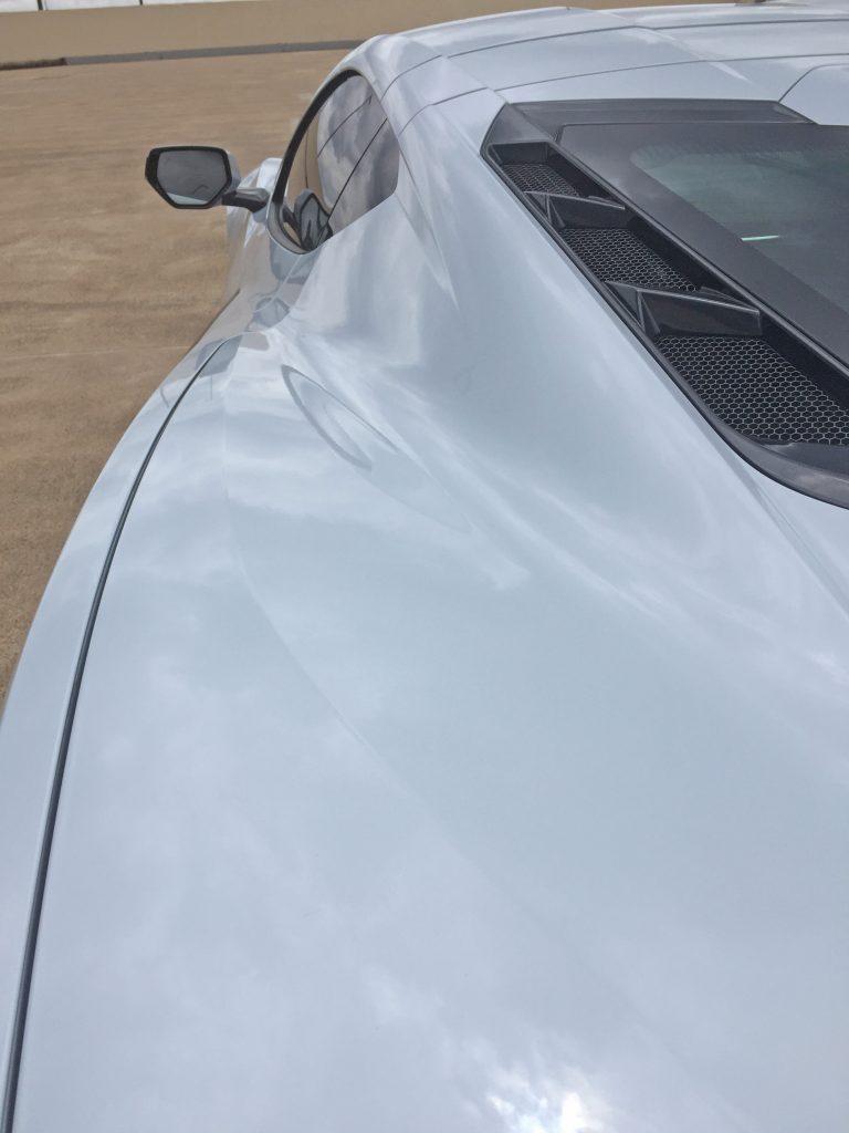 2020 Corvette rear