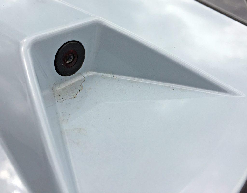 2020 Corvette camera
