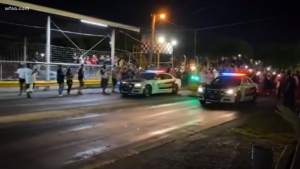 Yellow Belly Drag Strip Cops